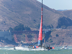 15.09.2013, Pier29, San Francisco, USA, Americas Cup Final Races 2013, Race 9 and 10, im Bild Emirats Team New Zealand // during the finals of the Americas Cup 2013, race 9 and 10 at San Francisco, United States of America on 2013/09/15. EXPA Pictures © 2013, EXPA Pictures © 2013, PhotoCredit: EXPA/ Mag. Gert Steinthaler