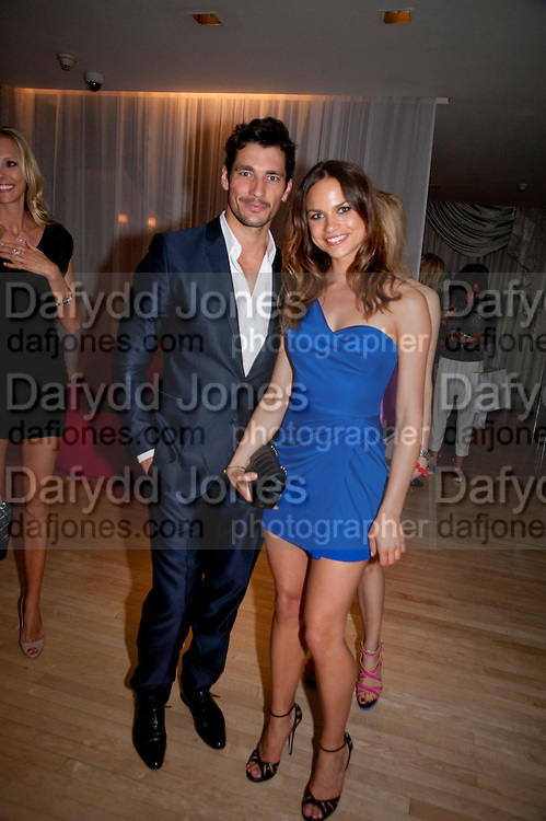 ANNA MACINERNY MARTINEZ; DAVID GANDY; , An evening at Sanderson to celebrate 10 years of Sanderson, in aid of Clic Sargent. Sanderson Hotel. 50 Berners St. London. W1. 27 April 2010 *** Local Caption *** -DO NOT ARCHIVE-© Copyright Photograph by Dafydd Jones. 248 Clapham Rd. London SW9 0PZ. Tel 0207 820 0771. www.dafjones.com.<br /> ANNA MACINERNY MARTINEZ; DAVID GANDY; , An evening at Sanderson to celebrate 10 years of Sanderson, in aid of Clic Sargent. Sanderson Hotel. 50 Berners St. London. W1. 27 April 2010