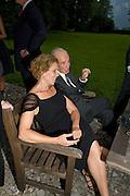 MRS. JULIE BROWN; DONALD KAHN, Christie's Gala. Casa Austria.  Amadeus Weekend. Salzburg. 22 August 2008.  *** Local Caption *** -DO NOT ARCHIVE-© Copyright Photograph by Dafydd Jones. 248 Clapham Rd. London SW9 0PZ. Tel 0207 820 0771. www.dafjones.com.