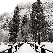 Yosemite National Park in winter