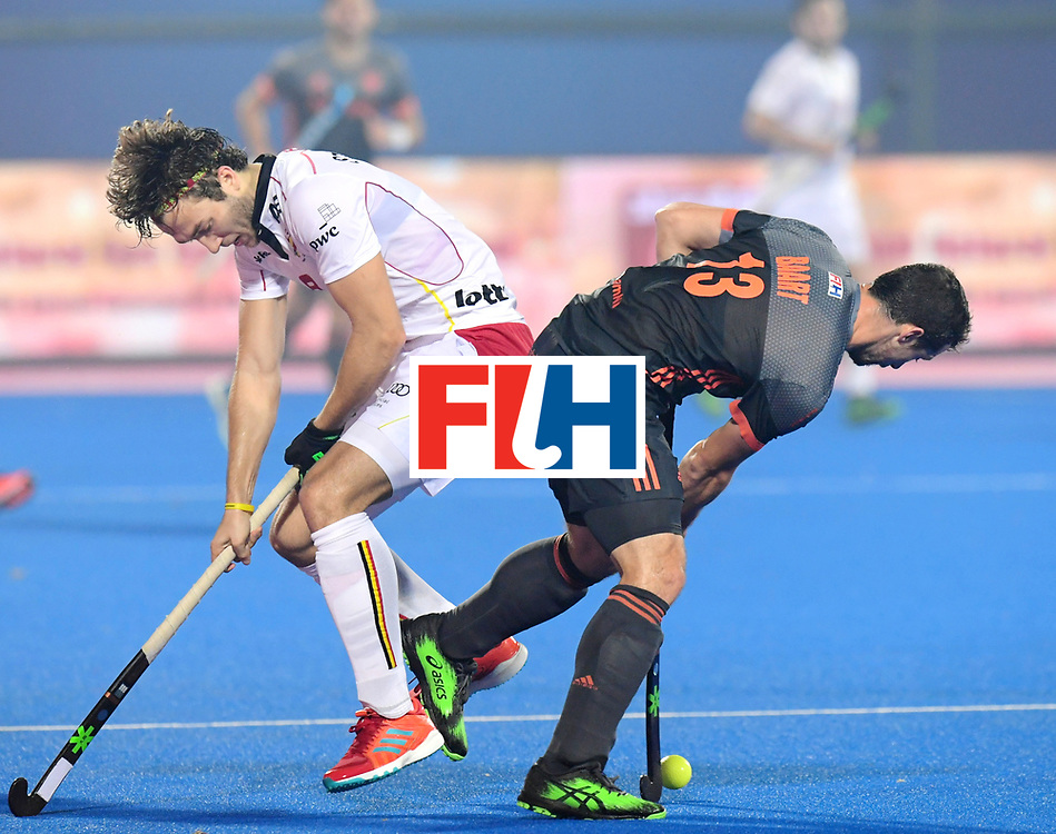 Odisha Men's Hockey World League Final Bhubaneswar 2017<br /> Match id:12<br /> Belgium v Netherlands<br /> Foto: Sander Baart (Ned) <br /> COPYRIGHT WORLDSPORTPICS FRANK UIJLENBROEK