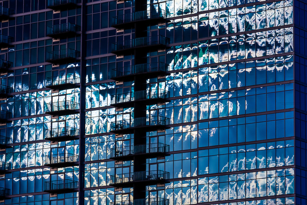 Architecture, Downtown Denver, Colorado USA.