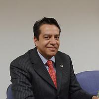 Toluca, México (Julio 27, 2016).- Guillermo Vázquez Camarena, presidente de CANACINTRA en el Estado de México en conferencia de prensa anuncio que el Edomex será sede en el 2017 de la Convención Nacional de Industriales, evento organizado por la Cámara Nacional de la Transformación.  Agencia MVT / José Hernández