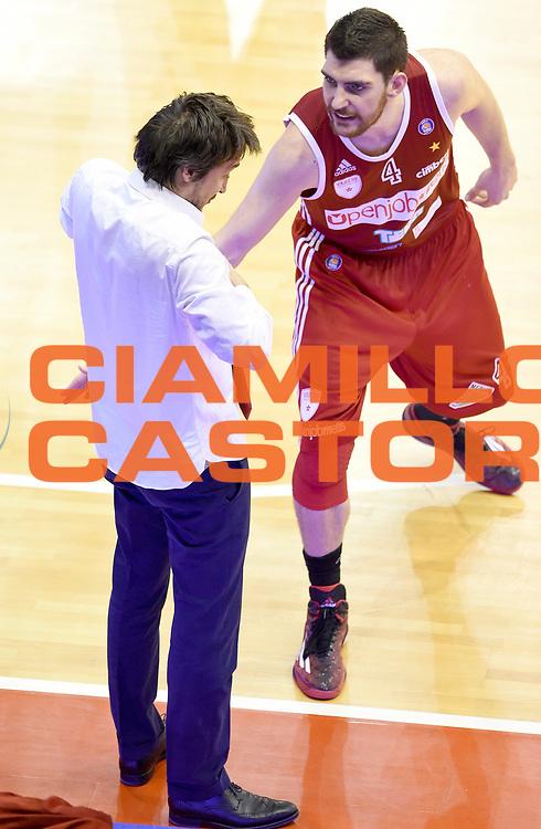 DESCRIZIONE : Reggio Emilia Campionato Lega A 2014-15 Grissin Bon Reggio Emilia Openjobmetis Varese<br /> GIOCATORE : Gianmarco Pozzecco Andrea Casella<br /> CATEGORIA : Allenatore Coach Fair Play<br /> SQUADRA : Openjobmetis Varese<br /> EVENTO : Campionato Lega A 2014-15<br /> GARA : Grissin Bon Reggio Emilia Openjobmetis Varese<br /> DATA : 08/02/2015<br /> SPORT : Pallacanestro <br /> AUTORE : Agenzia Ciamillo-Castoria/A.Giberti<br /> Galleria : Campionato Lega A 2014-15  <br /> Fotonotizia : Reggio Emilia Campionato Lega A 2014-15 Grissin Bon Reggio Emilia Openjobmetis Varese<br /> Predefinita :