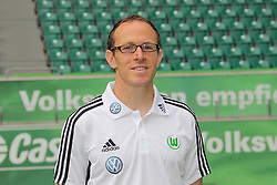 12.07.2011, Volkswagen Arena, Wolfsburg, GER, 1.FBL,  VfL Wolfsburg, Spielervorstellung im Bild  Oliver Mutschler (Reha-Trainer) beim VfL Wolfsburg in der Saison 2011/2012 // during the player praesentation in Wolfsburg 2011/07/12.     EXPA Pictures © 2011, PhotoCredit: EXPA/ nph/  Rust       ****** out of GER / CRO  / BEL ******
