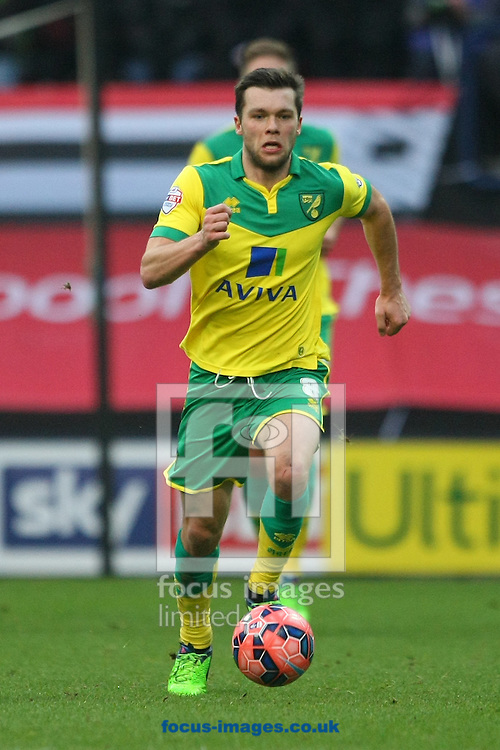 Norwich midfielder Jonathan Howson in action during the FA Cup match at Deepdale, Preston<br /> Picture by Paul Chesterton/Focus Images Ltd +44 7904 640267<br /> 03/01/2015