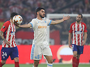 Morgan Sanson of Marseille during the Europa League Final match between Olympique de Marseille and Atletico Madrid at Orange Velodrome, Marseille, France on 16 May 2018. Picture by Ahmad Morra.