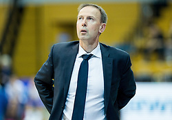 Vincent Collet, head coach of SIG Strassbourg during basketball match between KK Cibona Zagreb (CRO) and SIG Strasbourg in Round #6 of FIBA Champions League 2016/17, on November 23, 2016 in Drazen Petrovic Basketball center, Zagreb, Croatia. Photo by Vid Ponikvar / Sportida