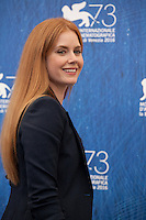 Amy Adams at Nocturnal Animals film photocall at the 73rd Venice Film Festival, Sala Grande on Friday September 2nd 2016, Venice Lido, Italy.