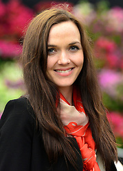© Licensed to London News Pictures. 20/05/2013. London, UK Victoria Pendleton. Press day at Chelsea Flower Show 2013. The centenary edition of the show attracts large number of visitors and is already sold out before opening day. Photo credit : Stephen Simpson/LNP
