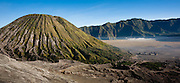 Mount Bromo volcano in Java (Indonesia)