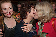 JUDITH OWEN AND HER CO-STAR  RUBY WAX, ROSIE BOYCOTT Gala performance of  RUBY WAX- LOSING IT  in aid of  Comic Relief. Menier Theatre. London. 23 February 2011. -DO NOT ARCHIVE-© Copyright Photograph by Dafydd Jones. 248 Clapham Rd. London SW9 0PZ. Tel 0207 820 0771. www.dafjones.com.