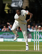 Jofra Archer of England bowling during the International Test Match 2019 match between England and Australia at Lord's Cricket Ground, St John's Wood, United Kingdom on 18 August 2019.