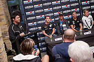 Official Pre-Race Press Conference. 2012 Ironman Melbourne. Asia-Pacific Championship. Hosted By USM Events. 22/03/2012. Photo By Lucas Wroe.