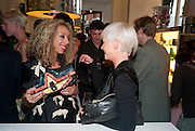 ZOE KNIGHT; EMMA GRIFFITHS, Wolf & Badger - pop-up store launch party. Wonder Room, Selfridges, 13 August 2010. -DO NOT ARCHIVE-© Copyright Photograph by Dafydd Jones. 248 Clapham Rd. London SW9 0PZ. Tel 0207 820 0771. www.dafjones.com.