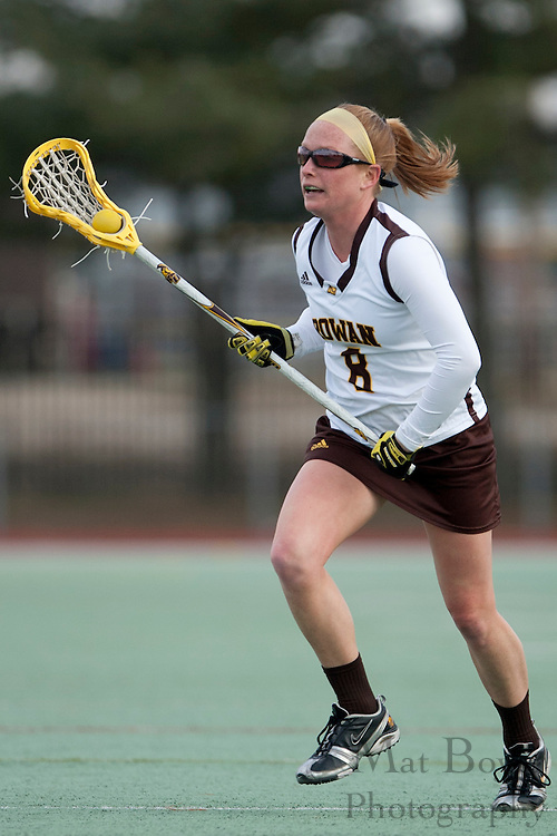 Rowan University  Sr. Captain Midfielder Trish Harrington