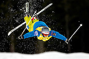 Canada's Jennifer Heil competes in the women's moguls qualification at the Freestyle World Cup competition at  Deer Valley Resort, Saturday, Jan. 16, 2010, in Park City, Utah. (AP Photo/Colin E Braley).