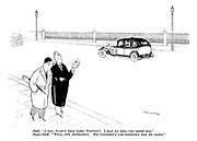 """Snob. """"I say, wasn't that Lord Woppitt? I had no idea you knew him."""" Super-snob. """"Well, not intimately. His lordship's car recently ran me down."""""""