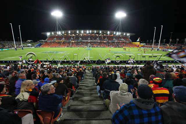 The Waikato Stadium in Hamilton has a capacity of 31.000 seats for the Rugby WC 2011, pool matches with the teams of New Zealand, Wales, Samoa and Fiji will be played here