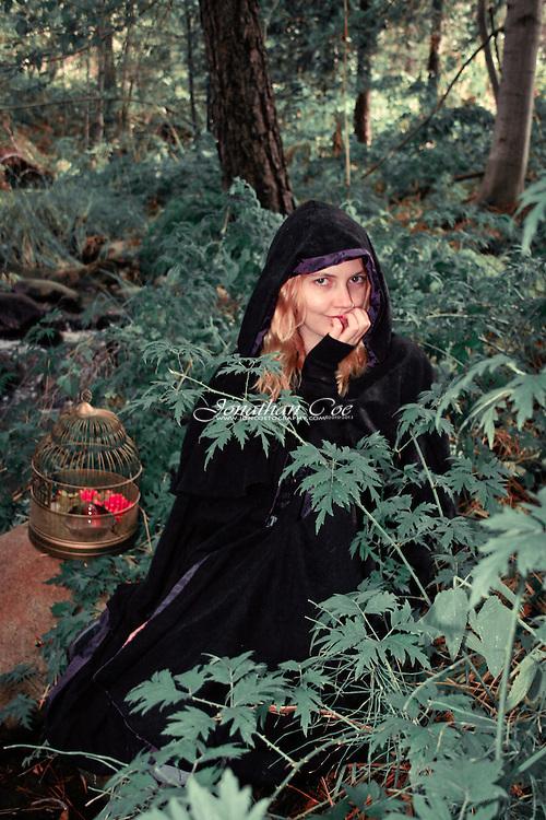 Model: Jessie James Hollywood<br /> Location: Wawona, Yosemite National Park