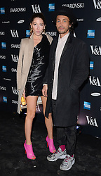 Guest and Dan Macmillan attend The Alexander McQueen: Savage Beauty VIP private view at The Victoria and Albert Museum, Cromwell Road, London on Saturday 14 March 2015