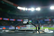 Experimental sound system illustration for cam during the French Championship Ligue 1 football match between Paris Saint-Germain and ESTAC Troyes on November 29, 2017 at Parc des Princes stadium in Paris, France - Photo Stephane Allaman / ProSportsImages / DPPI