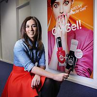 Nederland, Haarlem , 2 maart 2015.<br />  Fadime Yildiz-Elvan, Senior Brand Manager bij Coty Beauty<br /> Foto:Jean-Pierre Jans