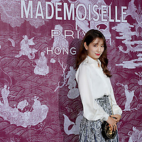 Korean actress Park Shin Hye attends the CHANEL 'Mademoiselle Prive' Exhibition Opening Event on January 11, 2018 in Hong Kong, Hong Kong. Photo by Kam Kwok Concord Wong / S3studio