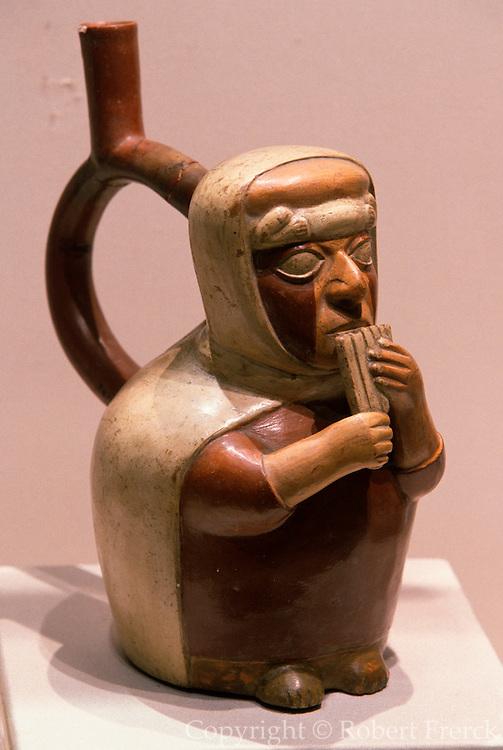 PERU, PREHISPANIC Mochica (Moche); ceramic vessel