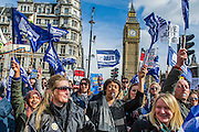 The NUT leads a national strike action in England and Wales. Marches and rallies are being held around the country, including this one from Broadcasting House to Downing Street, Whitehall. The union says the action is being taken against: Excessive workload and bureaucratic; Performance related pay and in defence of a national pay scale system; Unfair pension changes. Christine Blower, General Secretary of the National Union of Teachers, the largest teachers&rsquo; union said: &ldquo;Teachers deeply regret the disruption caused by this strike action to parents and teachers. The Government&rsquo;s refusal, however, to engage to resolve the dispute means that we have no alternative other than to demonstrate the seriousness of our concerns.<br /> &ldquo;Teachers&rsquo; levels of workload are intolerable &ndash;the Government&rsquo;s own survey, published last month, shows that primary school teachers work nearly 60 hours a week and secondary school teachers work nearly 56 hours a week. 2 in 5 teachers are leaving the profession in the first 5 years of teaching as are many others.  This is bad for children and bad for education. London, UK 26 March 2014.<br />  Guy Bell, 07771 786236, guy@gbphotos.com