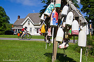 Apogee tour group on Maine Coast trip in Round Pond, Maine, USA