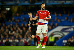 Alvaro Negredo of Middlesbrough - Mandatory by-line: Jason Brown/JMP - 08/05/17 - FOOTBALL - Stamford Bridge - London, England - Chelsea v Middlesbrough - Premier League