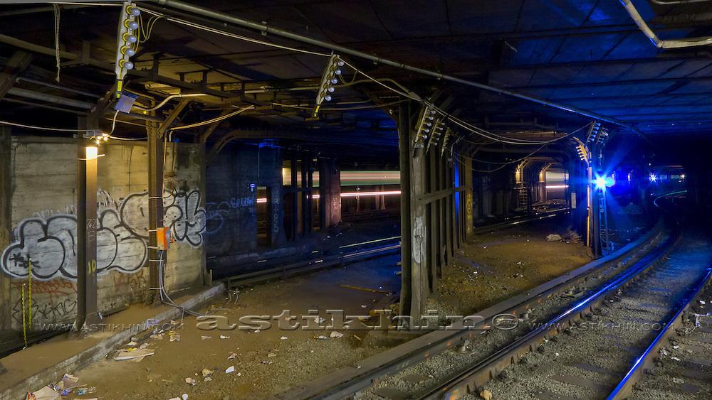 Manhattan subway.