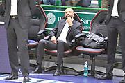 DESCRIZIONE : Campionato 2014/15 Dinamo Banco di Sardegna Sassari - Dolomiti Energia Aquila Trento Playoff Quarti di Finale Gara3<br /> GIOCATORE : Maurizio Buscaglia<br /> CATEGORIA : Ritratto Pre Game Pregame Before<br /> SQUADRA : Dolomiti Energia Aquila Trento<br /> EVENTO : LegaBasket Serie A Beko 2014/2015 Playoff Quarti di Finale Gara3<br /> GARA : Dinamo Banco di Sardegna Sassari - Dolomiti Energia Aquila Trento Gara3<br /> DATA : 22/05/2015<br /> SPORT : Pallacanestro <br /> AUTORE : Agenzia Ciamillo-Castoria/C.Atzori