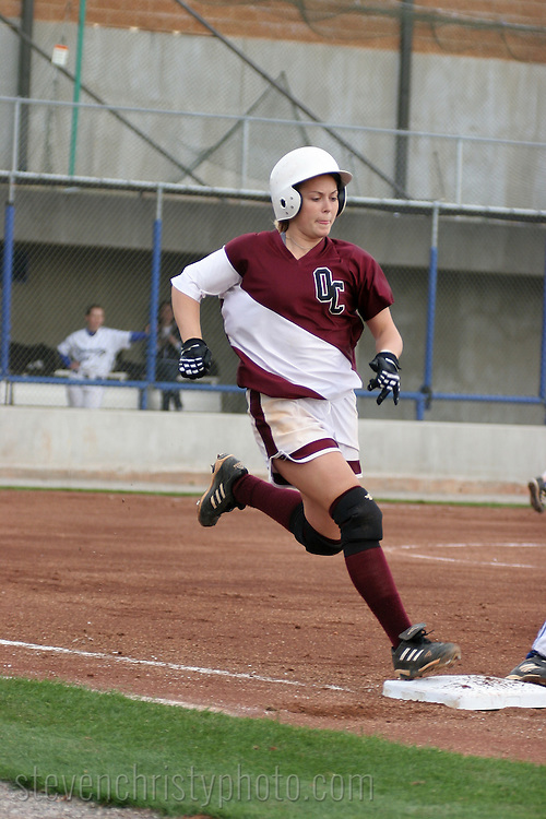 OC Softball vs OCU.March 30, 2006.Softball Hall of Fame Stadium