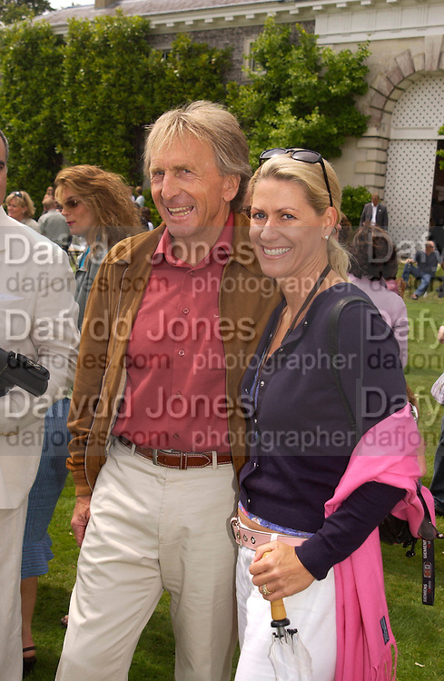 Derek and Misti Bell, Cartier Style Et Luxe, Goodwood, 27 June 2004. SUPPLIED FOR ONE-TIME USE ONLY-DO NOT ARCHIVE. © Copyright Photograph by Dafydd Jones 66 Stockwell Park Rd. London SW9 0DA Tel 020 7733 0108 www.dafjones.com