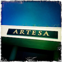 2013 May 13:  Artesa in Carneros. Artesa focuses on producing small, ultra-premium lots of the varietals for which the Carneros and the Napa Valley are best known - Chardonnay, Pinot Noir, Merlot and Cabernet Sauvignon.