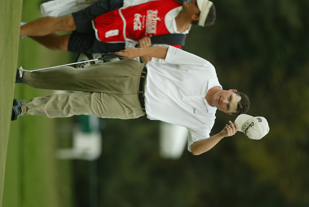 Chad Campbell.2003 Tour Championship.Final Round.Champions Golf Club.Houston, TX.November 9, 2003..photograph by Darren Carroll