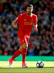 Emre Can of Liverpool - Mandatory by-line: Matt McNulty/JMP - 23/04/2017 - FOOTBALL - Anfield - Liverpool, England - Liverpool v Crystal Palace - Premier League