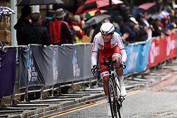 Anna Plichta (POL) at UCI Road World Championships 2019 Elite Women's TT a 30.3 km individual time trial from Ripon to Harrogate, United Kingdom on September 24, 2019. Photo by Sean Robinson/velofocus.com