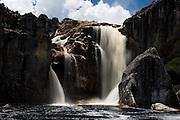 Sao Goncalo do Rio Preto_MG, Brasil...Cachoeira do Crioulo no Parque Estadual do Rio Preto...Cachoeira do Crioulo in Parque Estudadual do Rio Preto...Foto: LEO DRUMOND /  NITRO