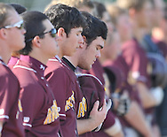 Avon Lake vs Midview varsity high school baseball at The Pipe Yard in Lorain, Ohio on May 25, 2013..© David Richard