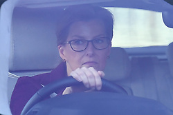 © Licensed to London News Pictures. 18/12/2019. London, UK. Sophie, Countess of Wessex. Members of the Royal Family seen arriving at Buckingham Palace in West London to attend the Queen's annual Christmas lunch. Photo credit: Ben Cawthra/LNP