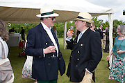 MAJOR PETER PUSINELLI; MAJOR NICK MUSGRAVE, The Dalwhinnie Crook  charity Polo match  at Longdole  Polo Club, Birdlip  hosted by the Halcyon Gallery. . 12 June 2010. -DO NOT ARCHIVE-© Copyright Photograph by Dafydd Jones. 248 Clapham Rd. London SW9 0PZ. Tel 0207 820 0771. www.dafjones.com.