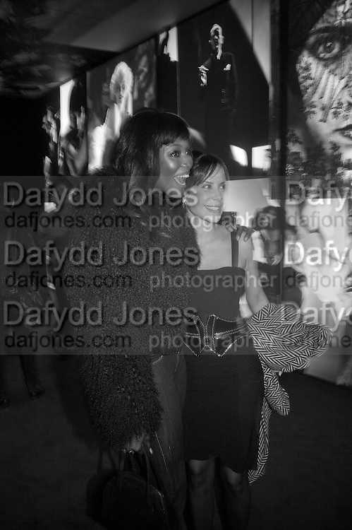 ANA PAULA JUNQUERA, NAOMI CAMPBELL, Vanity Fair Portraits: Photographs 1913-2008. Hosted by Burberry and Vanity Fair. National Portrait Gallery. London. 9 February 2008.  *** Local Caption *** -DO NOT ARCHIVE-© Copyright Photograph by Dafydd Jones. 248 Clapham Rd. London SW9 0PZ. Tel 0207 820 0771. www.dafjones.com.
