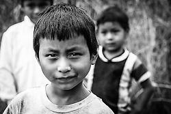Local boys of Gran Sumaco Reserve, Cloud Forest, Ecuador