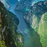 Aerial view of Sumidero Canyon