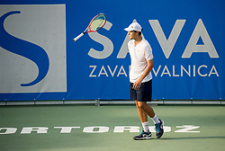 Pavel Kotov (RUS) during Day 6 at ATP Challenger Zavarovalnica Sava Slovenia Open 2018, on August 8, 2018 in Sports centre, Portoroz/Portorose, Slovenia. Photo by Vid Ponikvar / Sportida