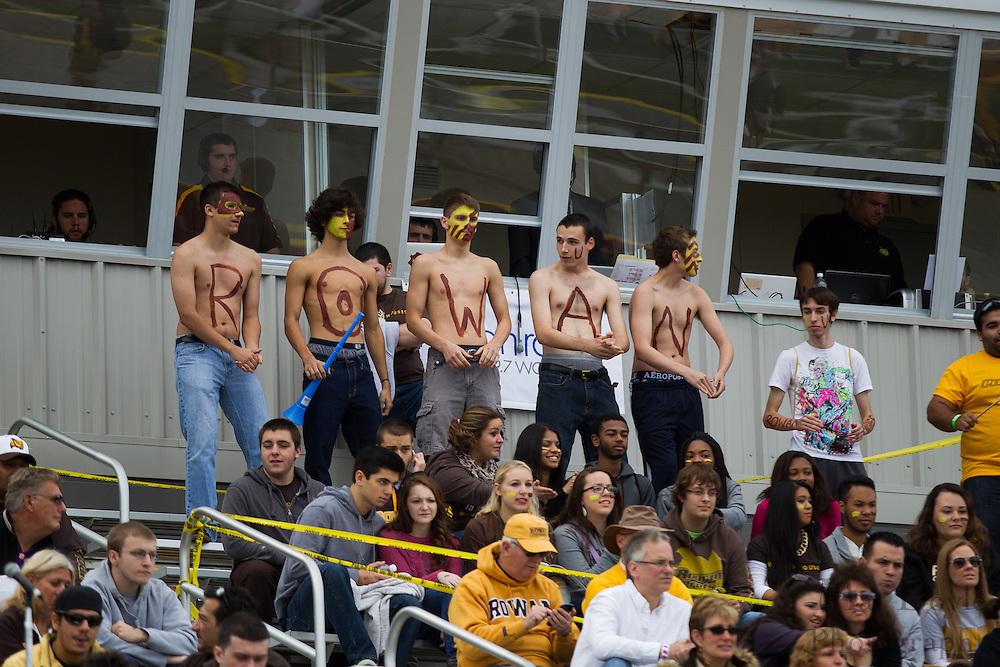 Rowan University Football vs Wesley College at Richard Wacker Stadium in Glassboro, NJ on Saturday October 19, 2013. (photo / Mat Boyle)