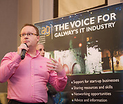 Repro  Free: Adam Cowan  Channel Mechanics<br />  Channel Mechanics  at  ITAG Members Update evening where some of the Nominees pitched their projects.   <br /> The ITAG Excellence Awards will take place on  November 17th Hotel Meyrick, Eyre Square, Galway.<br /> Winners in the following categories will be announced: <br />     New Talent of the Year Award<br />     Digital Woman Awards<br />     Emerging Technology Start Up Award<br />     Leadership Award<br />     Technology Innovation of the Year Award<br />     Digital Project Award<br />     ITAG Digital Enterprise Award &lt; 50 Employees<br />     ITAG Digital Enterprise Award &gt; 50 Employees.<br />  <br />  Photo:Andrew Downes, xposure.
